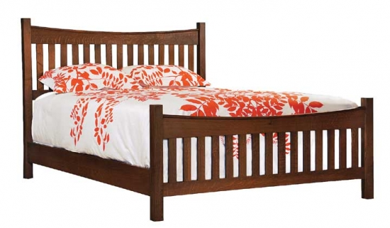 What Is Shaker Style Furniture. Shaker Reverse Bed In Fumed White Oak  Mattress And Boxspring