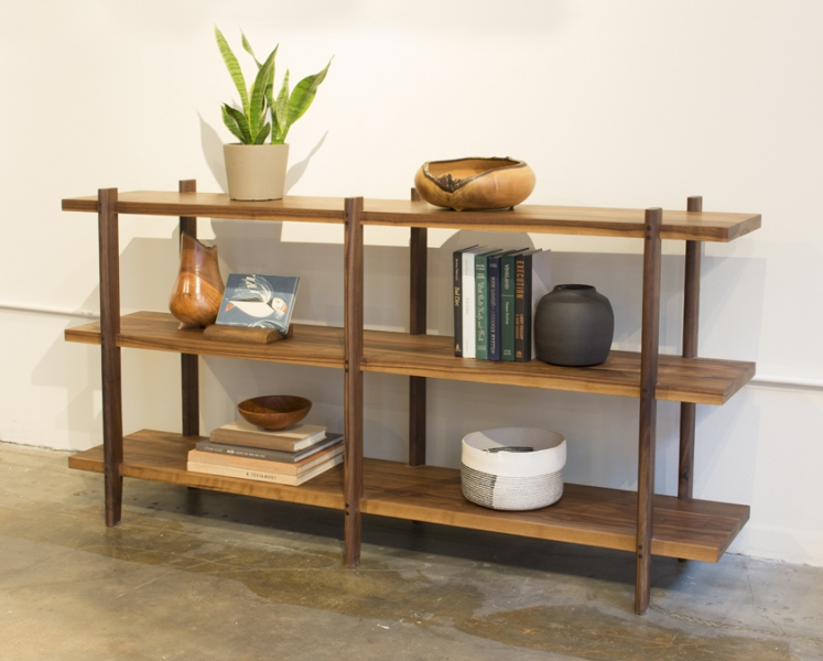 Sebastian Short Bookcase