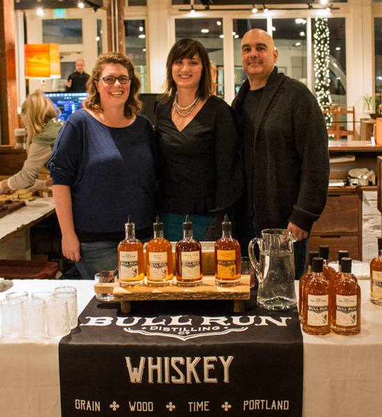 Bull Run Distillery Event with Oregon White Oak
