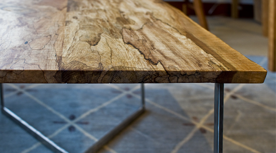 Delicieux Spalted Maple Coffee Table