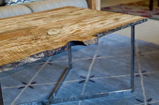 spalted maple coffee table the joinery