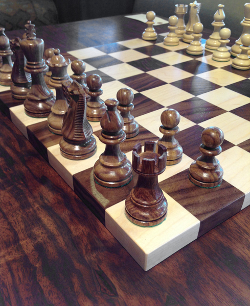 The Joinery Chess Board