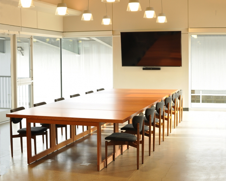 A to Z Wineworks Custom Conference Table
