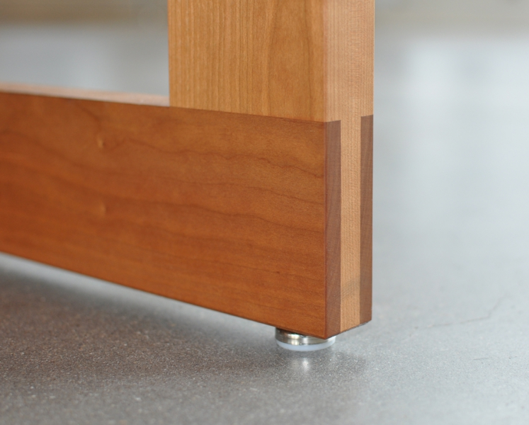 A to Z Wineworks Conference Table Joint Detail