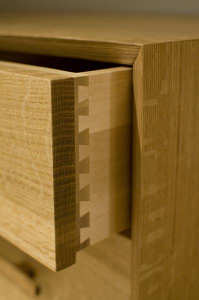 Modern Quartered White Oak Dresser