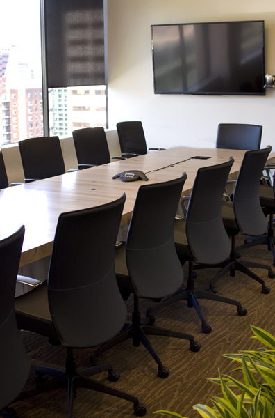 GreenWood Custom Conference Table by The Joinery