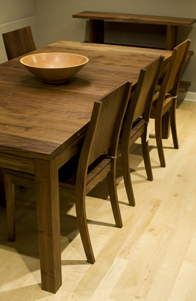 Studio Dining Table In Eastern Walnut The Joinery
