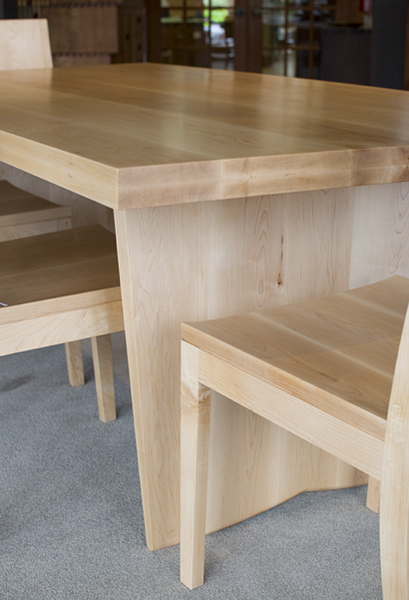 maple kitchen tables crafted gillespie reclaimed live