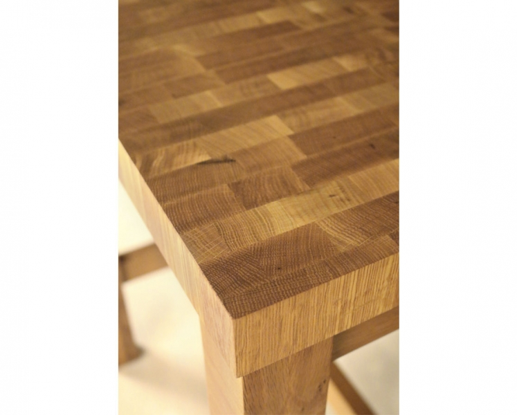 Butcher Block Island Detail