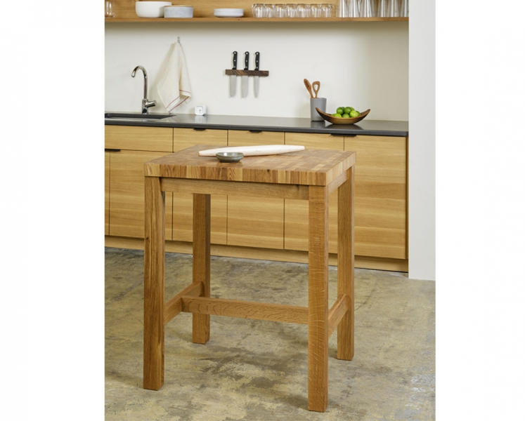 Hancrafted Butcher Block Island