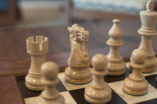 Handmade Chess Set at The Joinery
