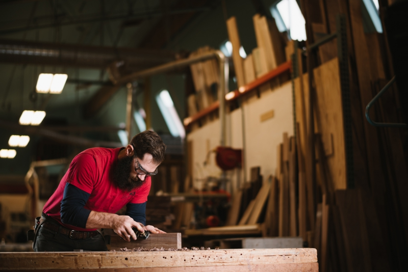 The Joinery woodshop tours