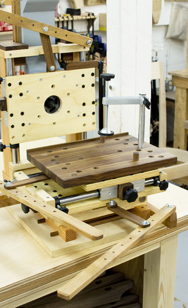 Home Made Multi Router The Joinery