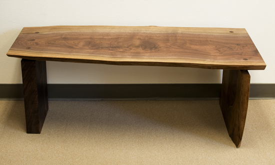 Fresh On The Floor Live Edge Bench The Joinery Portland Oregon