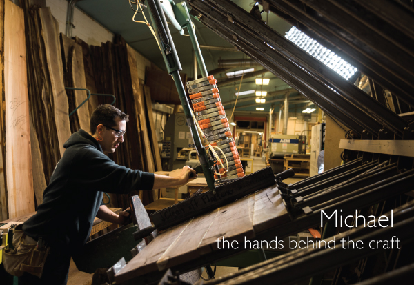 Michael: the hands behind the craft at The Joinery