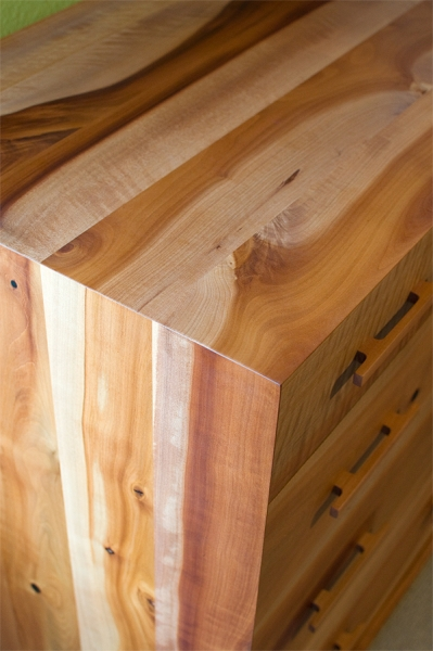 wood profile  madrone
