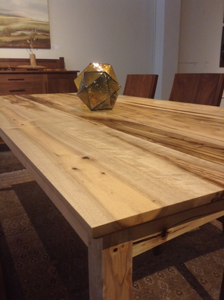 Oregon Myrtlewood Shaker Dining Table | The Joinery | Portland, Oregon