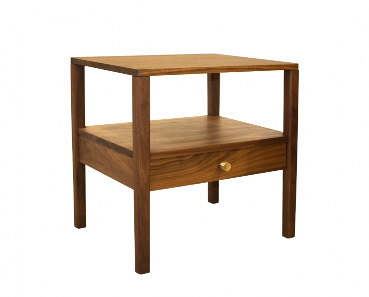 Maud nightstand in Eastern Walnut