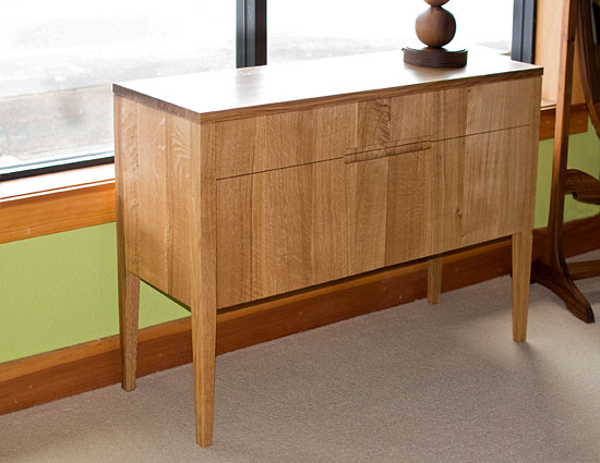Klamath Sideboard in Quartered White Oak