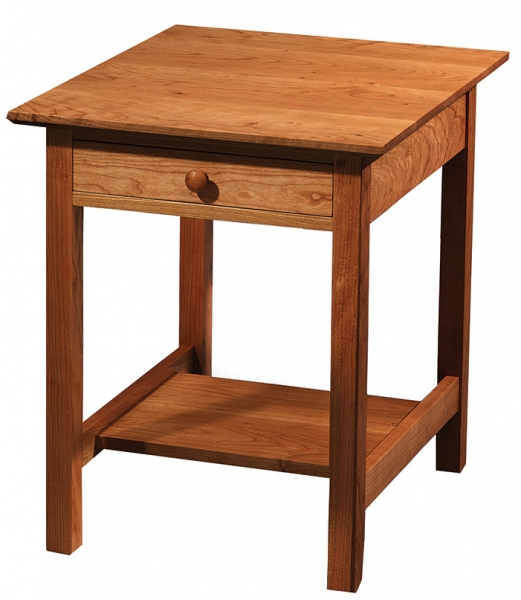 Nothing U201cpridefullyu201d Ornamental, But Wholly Functional And Solidly Built  With No Shortcuts. In That Tradition, Our Shaker End Table ...