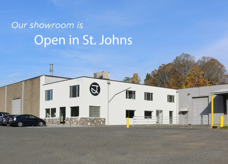 The Joinery woodshop and showroom is open in St. Johns