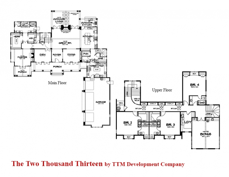 TTM Street of Dreams Floor Plan