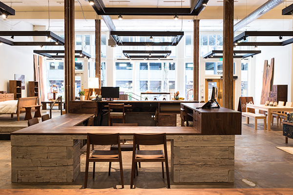 Merveilleux Hardwood Furniture Maker The Joinery Has Transformed Its Downtown Portland  Pop Up Shop Into A Stunning Permanent Showroom. The Company, Which Has  Produced ...