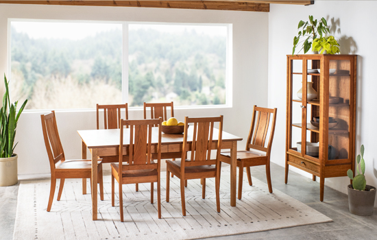 Shaker Dining Room by The Joinery