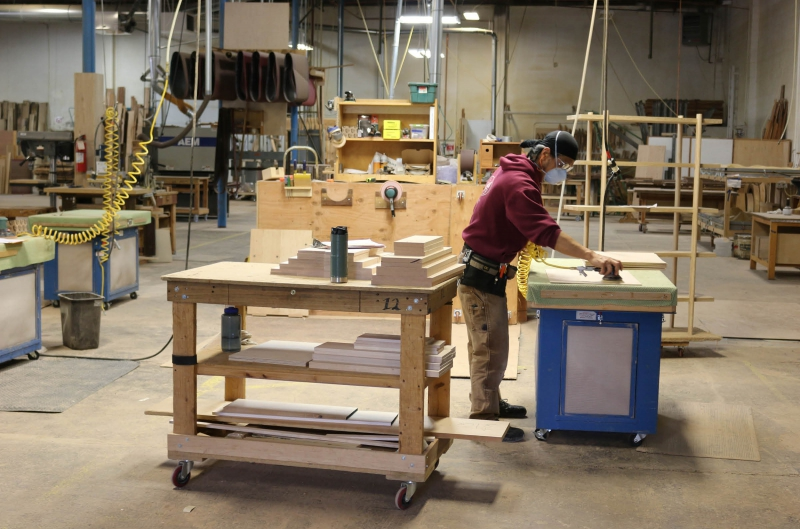 The Joinery woodshop reopening