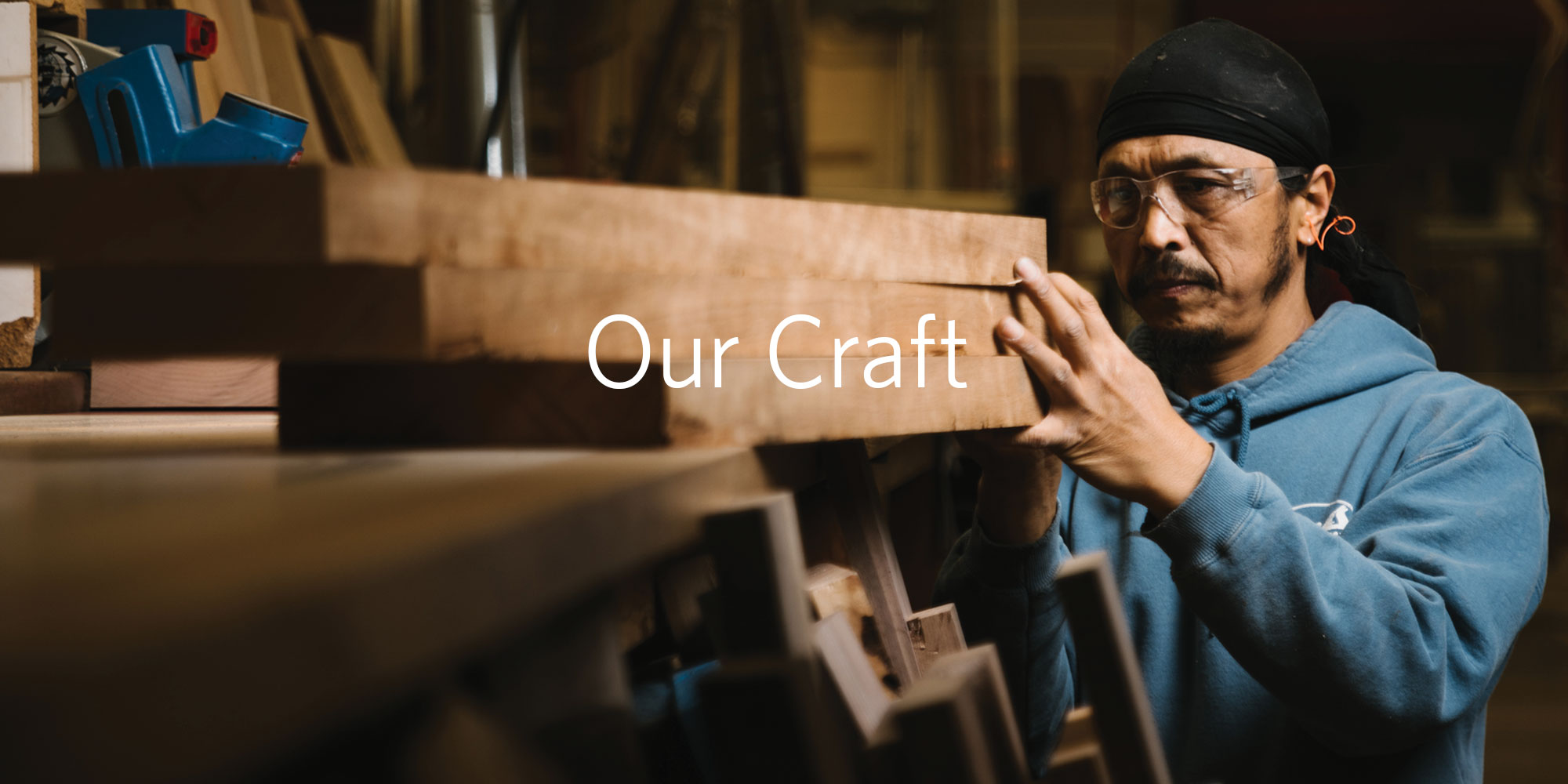 Banner image: Our Craft