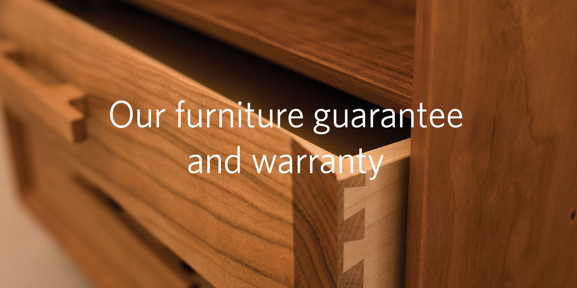 Banner image: Our furniture guarantee and warranty