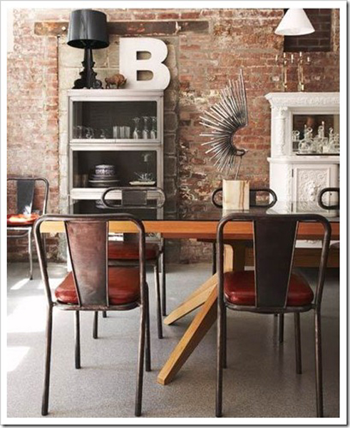 Design Trend Brick Wood The Joinery