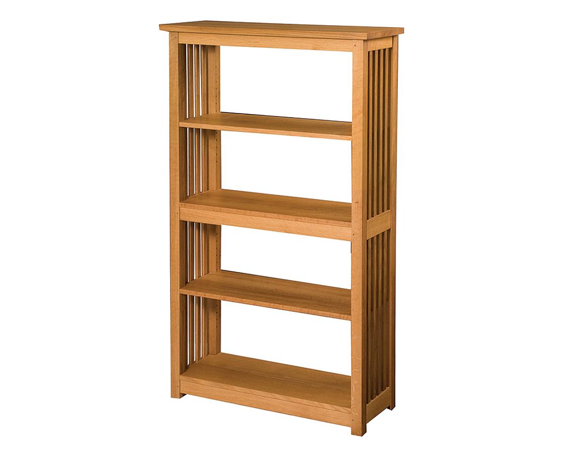 Mission Bookcase The Joinery Portland Oregon. Full resolution  img, nominally Width 1115 Height 896 pixels, img with #4B2A10.