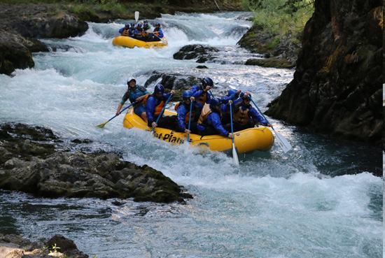 The Joinery team rafting trip 2018