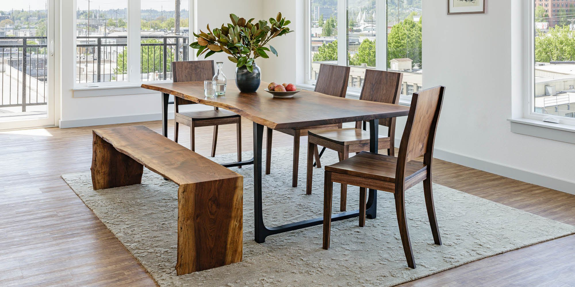 Solid Wood Furniture Handcrafted In Portland Oregon The