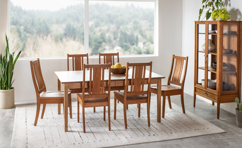 The Joinery Shaker dining room set