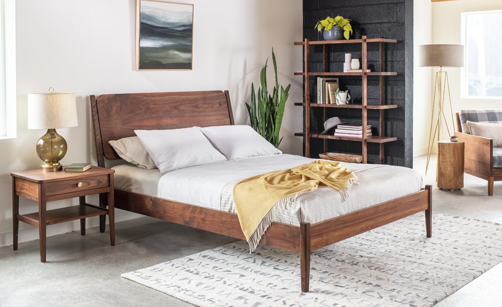 The Joinery Whitman bedframe