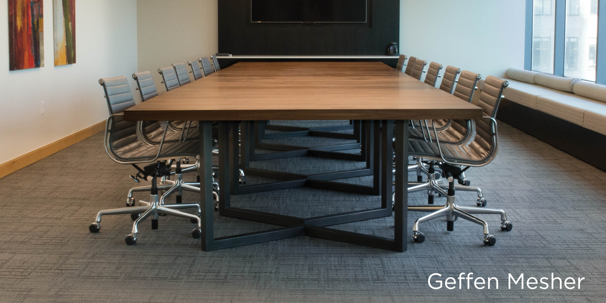 Geffen Mesher Custom Conference Table