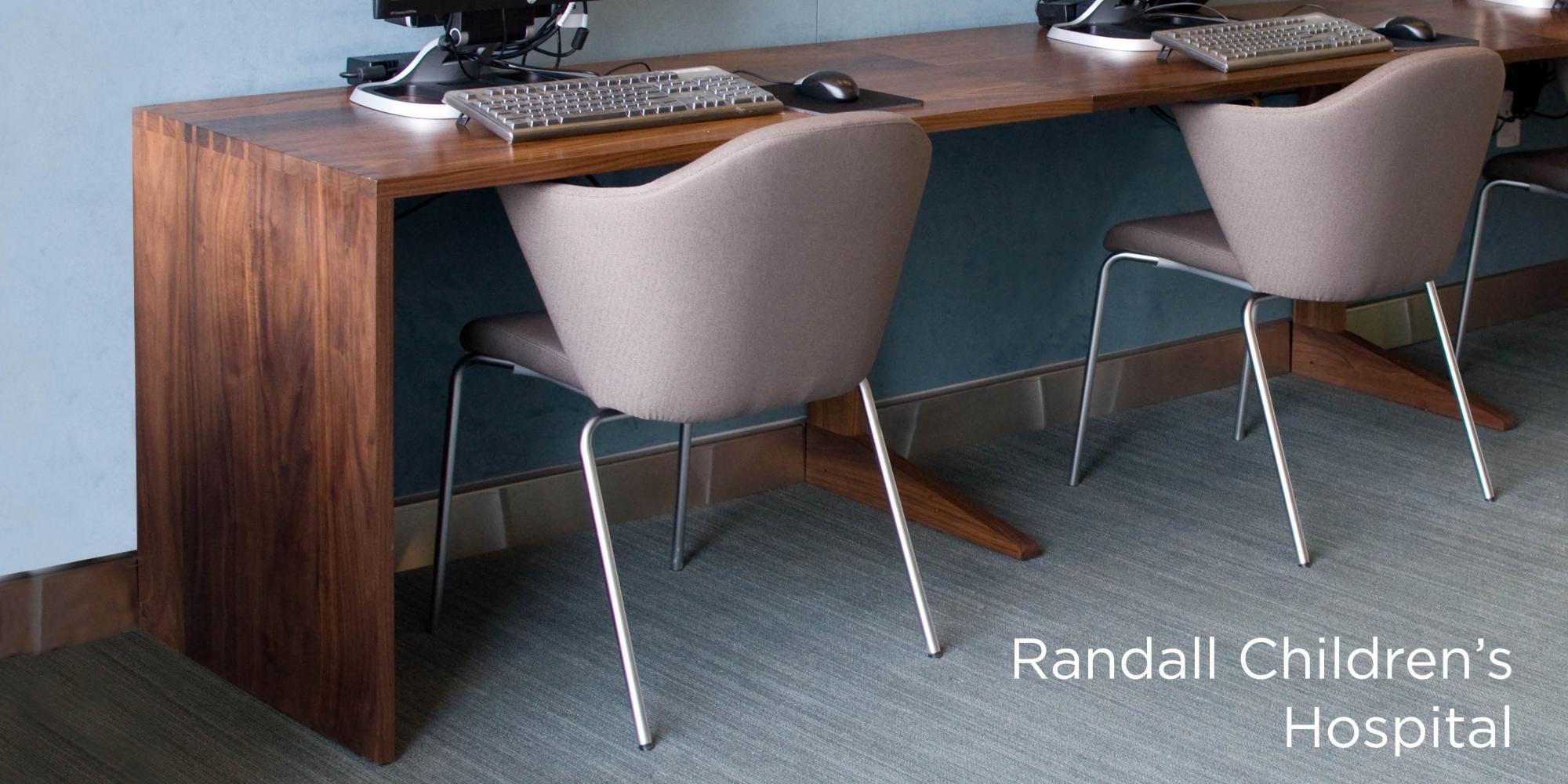 Randall Children's Hospital Custom Desk
