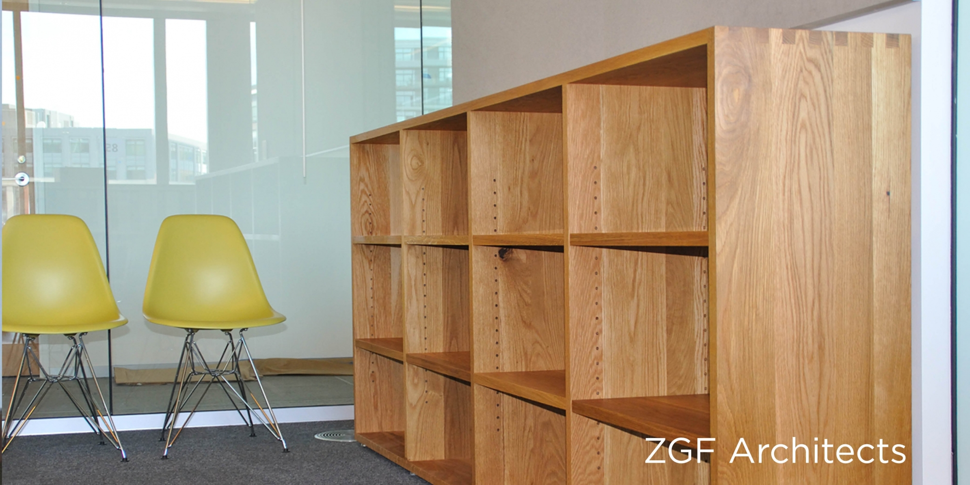 ZGF Custom Office Furniture by The Joinery