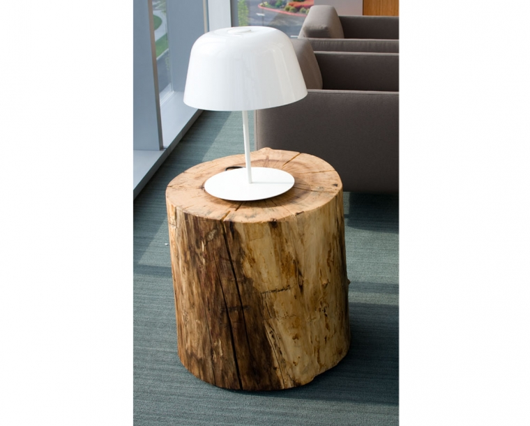 Maple Century End Table for Randall Children's Hospital