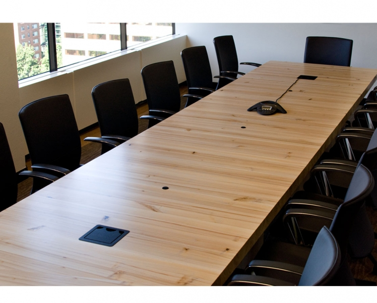 GreenWood Resource Conference Table made from Pacific Albus