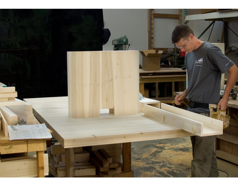 The Pacific Albus Conference Table in Process