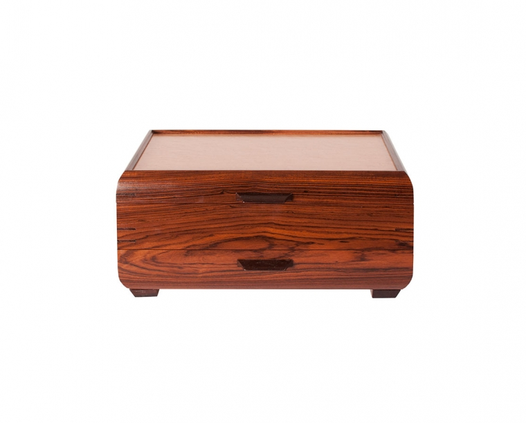 Jewelry Chest with 1 drawer by Mikutowski Woodworking, Open