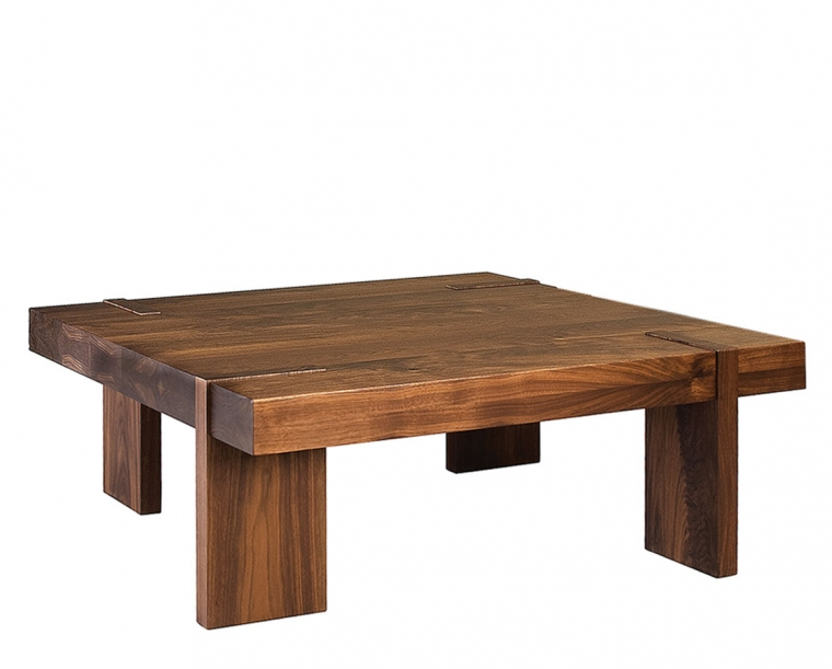 Arcadia coffee table in Eastern Walnut