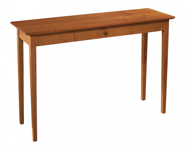 Shaker Entry Table in Cherry