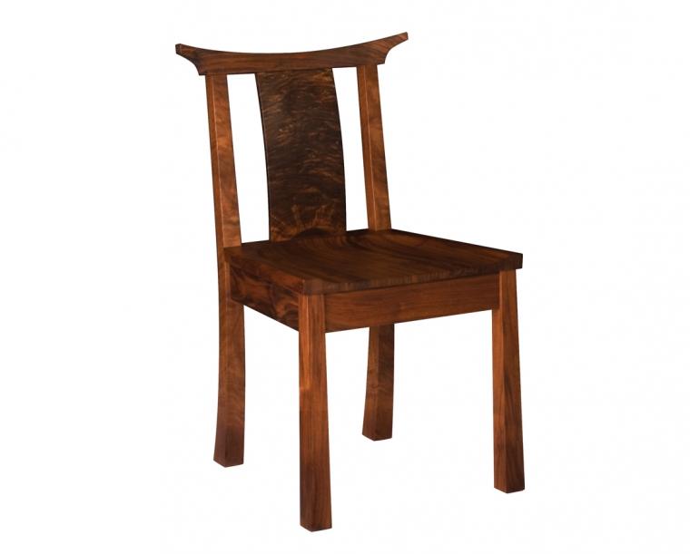 Kyoto Chair in Western Walnut