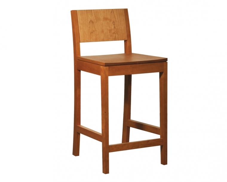 Studio Stool in Cherry, Counter Height