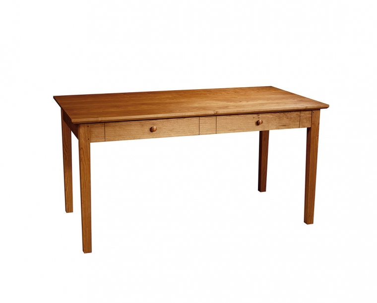 Shaker Writing Desk in Cherry with Cherry Shaker Knobs