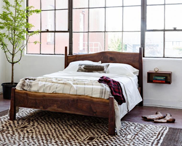 Live Edge Bed Frame, Platform